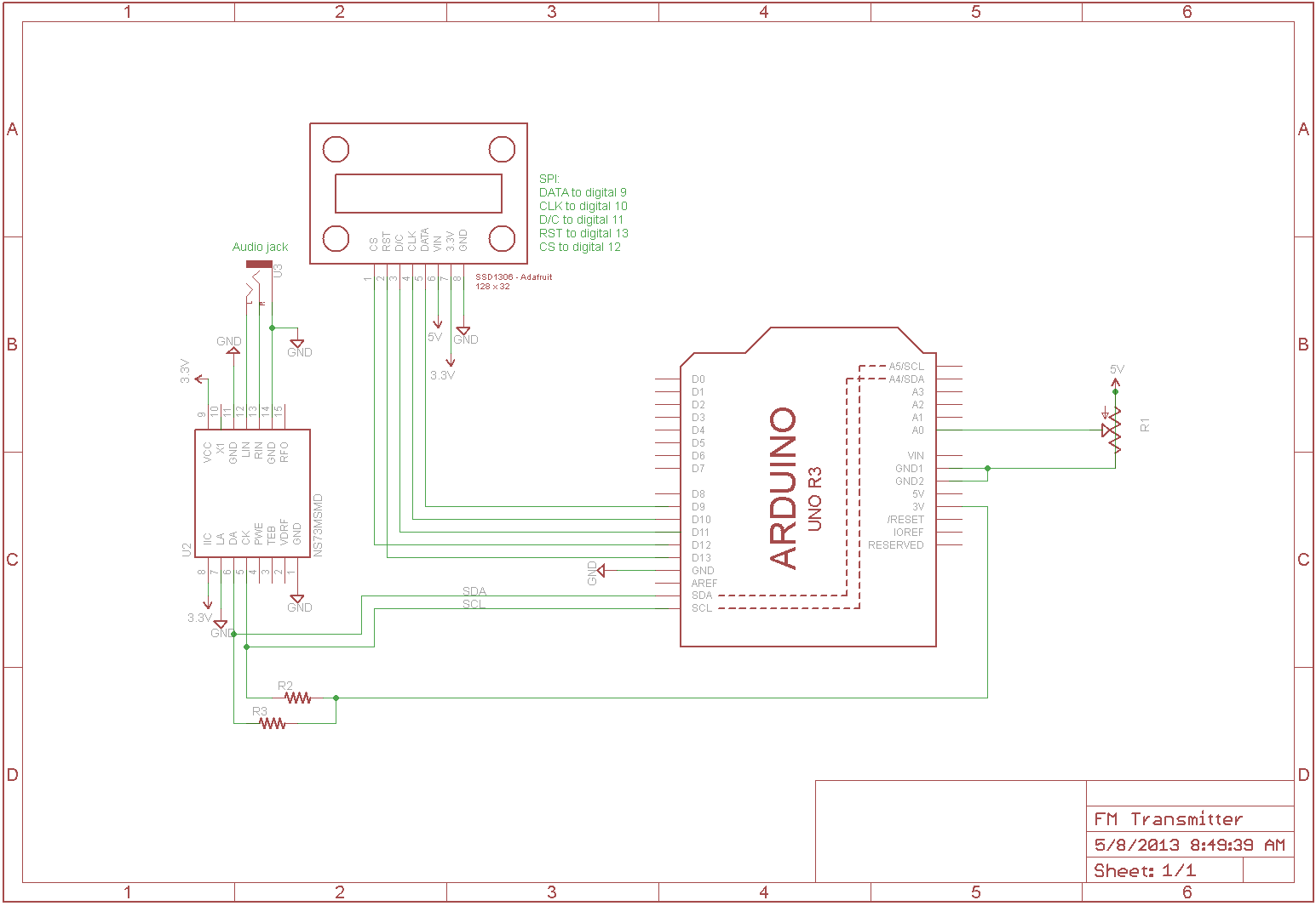 Fm Transmitter With Arduino I Am Gew Circuit Diagram Frame